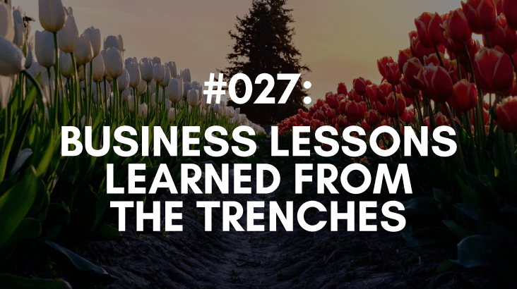 business lesson learned